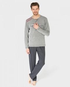 pijama-hombre-gris-vigore