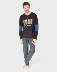 pijama-hombre-negro
